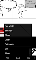 Screenshot of Comic Creator