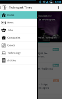 Screenshot of Technopark Times