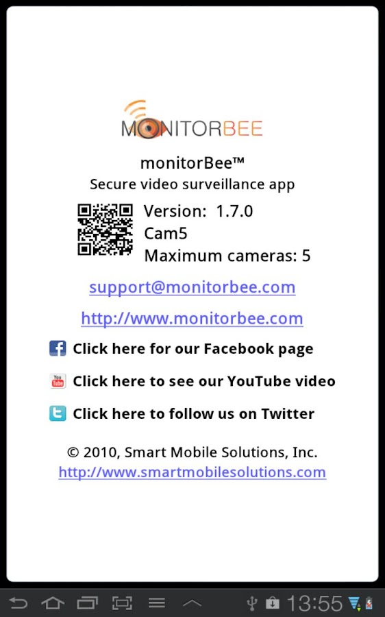 monitorBee Cam5- screenshot