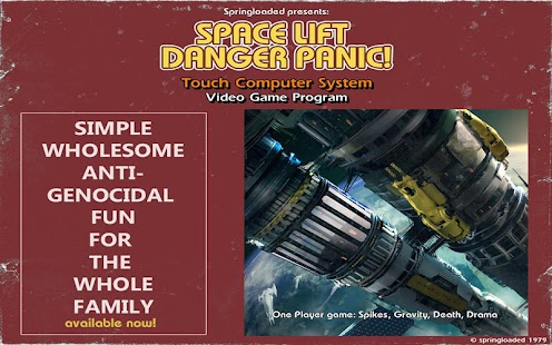 Space Lift Danger Panic!- screenshot thumbnail
