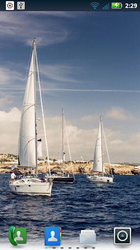 【免費個人化App】Sailing Photos Live Wallpaper-APP點子