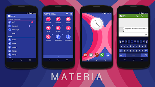 Materia CM11/PA Theme v1.01