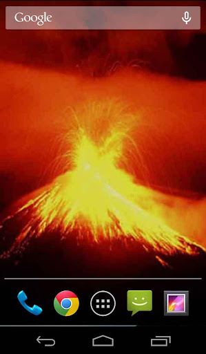 Furious Volcano Live Wallpaper
