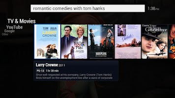 Screenshot of Search for TV