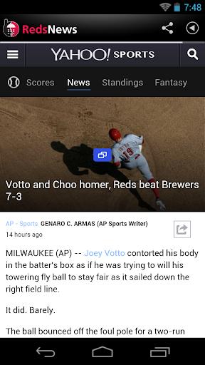 Cincinnati Baseball News for PC