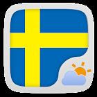 Swedish Language GOWeatherEX icon