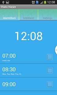 Shake Alarm Clock
