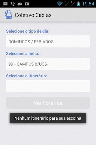 玩交通運輸App|Coletivo Caxias免費|APP試玩