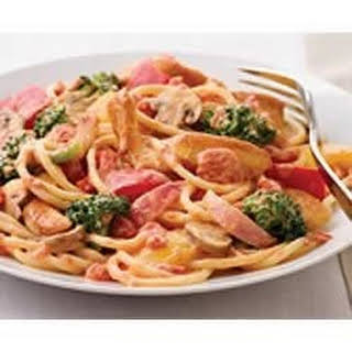 PHILLY Creamy Tomato and Chicken Spaghetti.