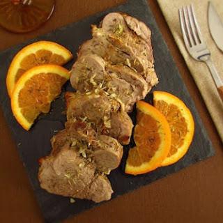 Pork Tenderloin With Orange.