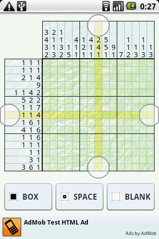 Nonogram - screenshot