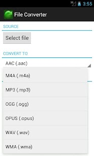 File Converter - screenshot thumbnail
