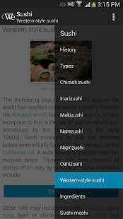Wikipedia Reader WikiExplorer - screenshot thumbnail