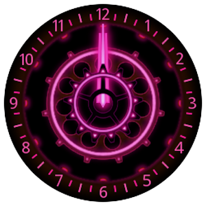 10 Pink Neon Clocks.apk 3.0