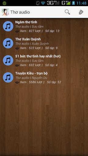 Thơ audio - Truyện Kiều audio