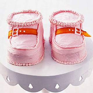 Baby Bootie Cakes