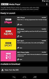 BBC Media Player Screenshot 6