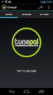 Tunepal - screenshot thumbnail