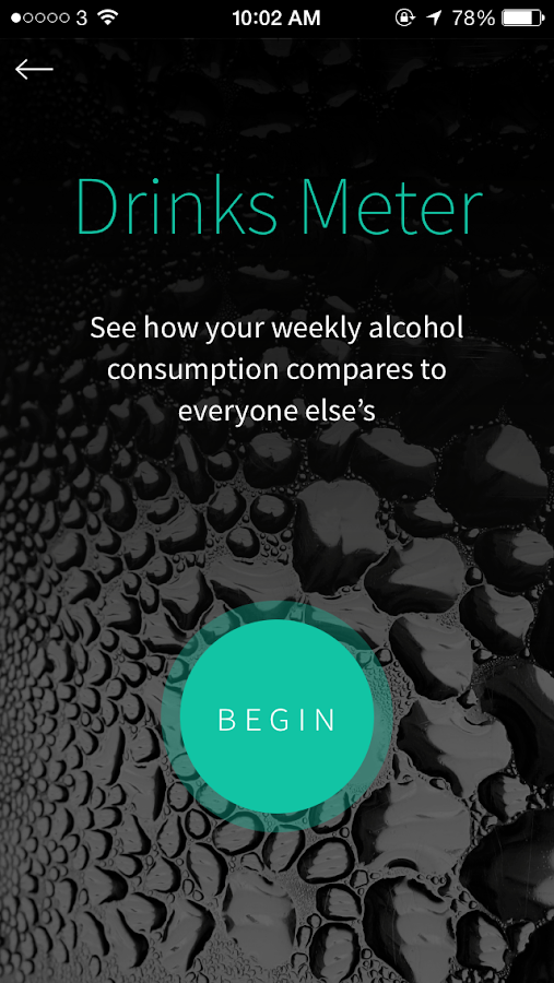 Drinks Meter- screenshot