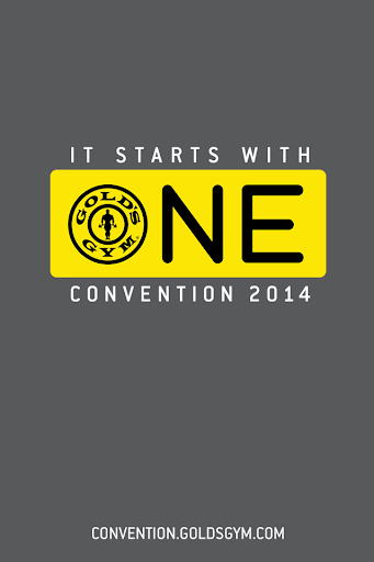 【免費生產應用App】Gold's Gym Convention-APP點子