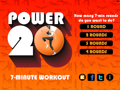 Power 20's 7 Minute Workout