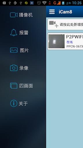 iCAM8 P2PCam WIFICam IPCam PnP