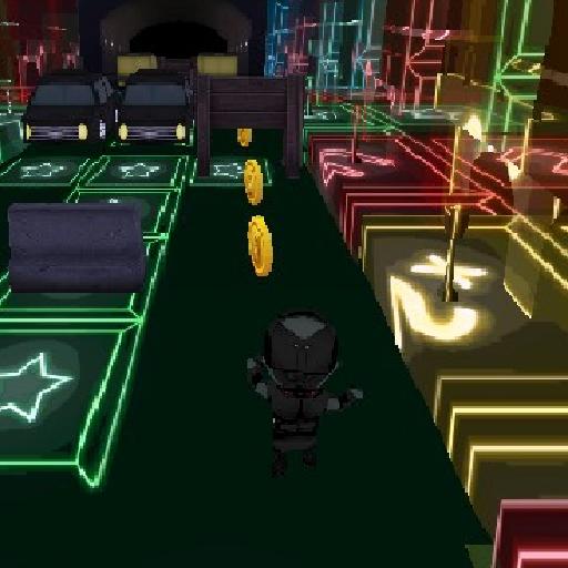 Neon Runner HD 3D Free 動作 App LOGO-APP試玩