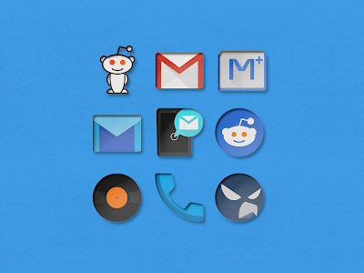 PaperCUT - Icon Pack v2