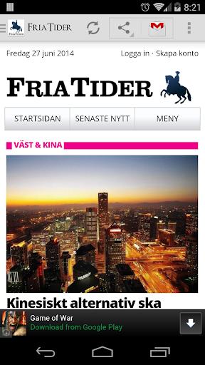 FriaTider