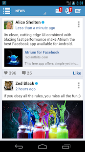 Atrium for Facebook - screenshot thumbnail