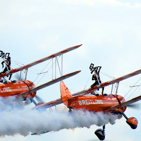 Wing Walking by Richard Lawes - Novices Only Street & Candid