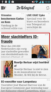 De Telegraaf - screenshot thumbnail