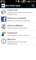 Screenshot of Star Radio Symi