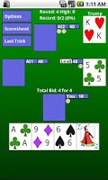 Screenshot of WIZARD Card Game