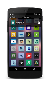 OverCast Icon Pack Long Shadow v1.0.4