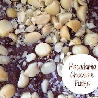 Macadamia Chocolate Fudge.