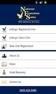 National Franchise Sales- screenshot thumbnail