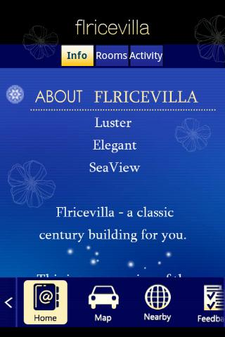 Flricevilla- screenshot