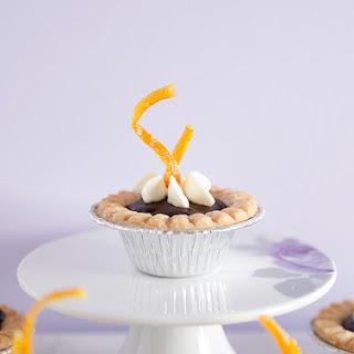 Chocolate Orange Tarts with Fresh Orange Cream