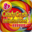 Candy Crush Unlimited Lives icon