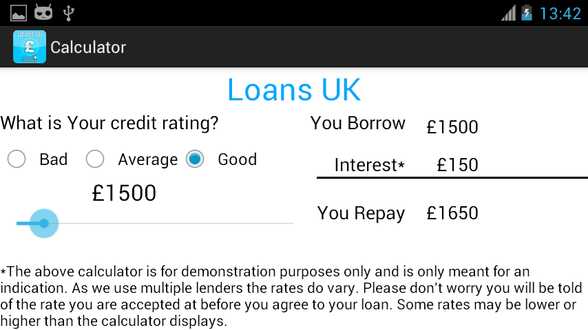 Loans UK- screenshot