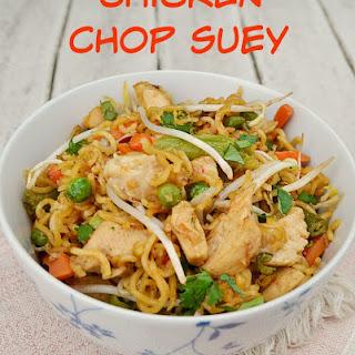Chicken Chop Suey Sauce Recipes.