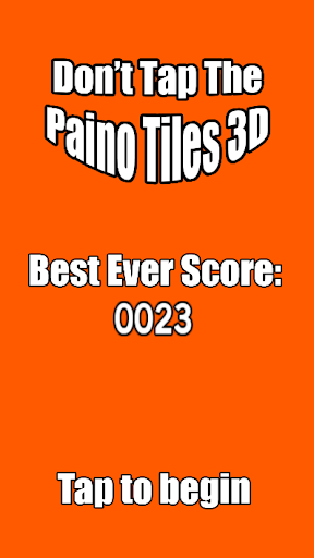 Don't Tap The Piano Tiles 3D