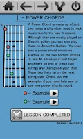 Screenshot of Learn Guitar