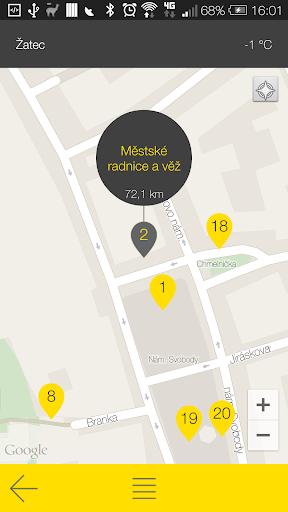 玩旅遊App|Žatec - audio tour免費|APP試玩