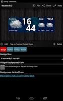 Screenshot of Make Your Clock Widget HD Pro