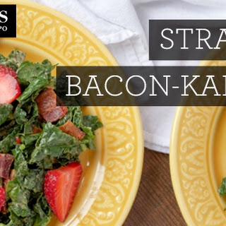 Strawberry-Bacon-Kale Salad