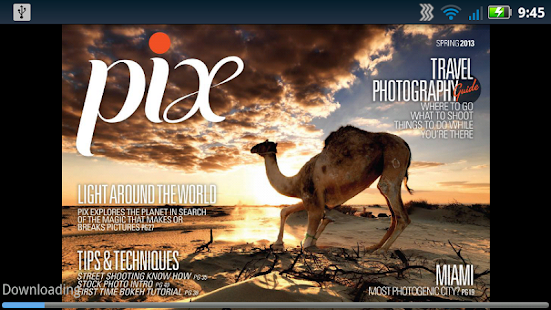 Pix Magazine - screenshot thumbnail