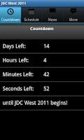 Screenshot of JDC West 2011