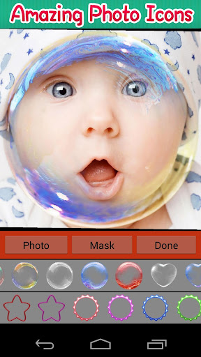 Photo in Bubbles Pro